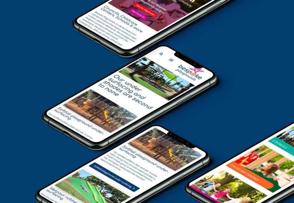 Bespoke Playgrounds Arvo Creative Design Website Design Brisbane